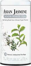 Asian Jasmine White Tea by The Republic of Tea, 50 tea bags
