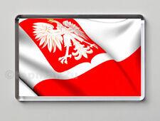 New, Quality Fridge Magnet, National Flag of Poland, World Cup, Polish
