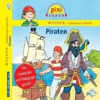 PIXI WISSEN - PIRATEN  CD NEU