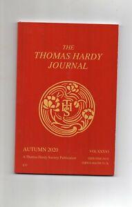 THE THOMAS  HARDY JOURNAL [Autumn 2020]