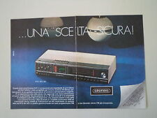 advertising Pubblicità 1973 GRUNDIG RTV 901 4D