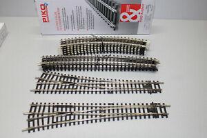 PIKO 55320 Gleis-Ergänzung Set C Gauge H0 Boxed