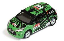 Ixo 1:43 Citroen DS3 R3 #27 G.Hunt-S.Marshall Rally Portugal IR RAM461 Brand new