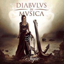 Diabulus in Musica - Argia CD 2014 symphonic metal Spain Napalm Records press