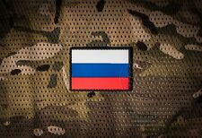 Russian flag PVC patch