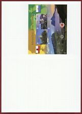 Gibraltar #1237, S/S, Imperf Proof, Mounted on BDT Folder, Castles & Sites
