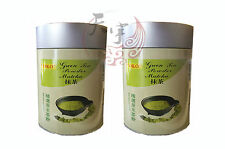 2 x YOKO Japanese Style Green Tea Powder / Matcha - 100g - New In Tin