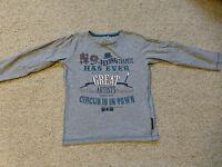 name it Shirt grau gr 104 Zirkus