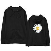 Kpop Bigbang G-dragon GD PEACEMINUSONE Letter Daisy Sweatershirt Cap Hoodie T2
