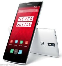 "OnePlus One 16GB White (FACTORY UNLOCKED) 5.5"" Full HD ,13MP , Quad-core 2.5 GHz"