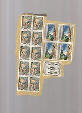 francobolli repubblica usati stock di 15 valori -