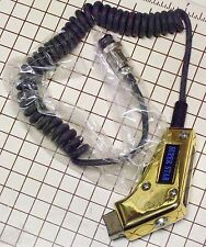 4 PIN NEW CB POWER MIC GOLD WIRED FOR COBRA & UNIDEN RADIO CK