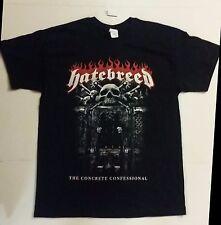 HATEBREED Concrete Confessional Mens Large *NEW* 2016 Tour Concert Band T-Shirt