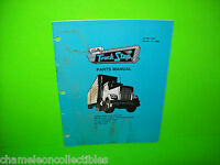 TRUCK STOP By BALLY 1989 ORIGINAL PINBALL MACHINE PARTS COMPONENTS MANUAL