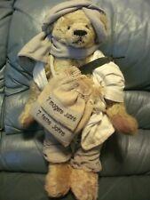HERMANN SPIELWAREN BEAR Joseph Limited Edition Mohair Tilt Growler