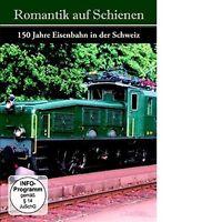 ROMANTIK AUF SCHIENEN - 150 JAHRE EISENBAHN IN DER SCHWEIZ 2 DVD NEUF