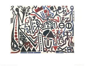 A.R. Penck - Die Zukunft des Emigranten 2 - Hochwertiger Kunstdruck