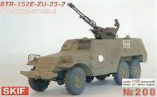 Skif—  BTR-152E with ZU-23-2 troop-carrier — Plastic model kit 1:35 Scale MK208