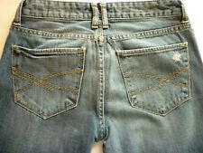 Aeropostate juniors 3 4 Reg Kylie boyfriend distreed low rise denim blue jeans
