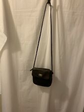 Vintage Small Fossil Crossbody  Bag Brown Leather Organizer