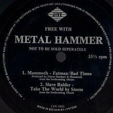 METAL HAMMER FLEXI mammoth fatman/bad times/slave raider take the world by storm