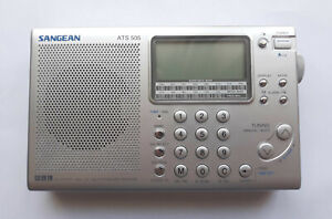 Sangean ATS-505 FM Stereo /MW/LW/SW Synthesized Receiver with SSB - Never Used