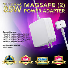 "85W CHARGER ADAPTER for APPLE MACBOOK PRO RETINA 15"" Mid 2012-Mid 2015"