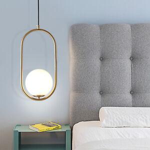 Modern Glass Hanging Light Ball LED Pendant Lamp Chandelier Ceiling light f/ 15㎡