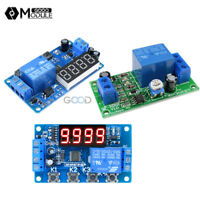 3/4-Digital LED DC 12V Trigger Cycle Delay Timer Control Automation Relay Module
