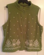 Ladies Christmas Vest Size 2X