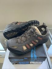 Teva Men's Kimtah Shoes- SIZE 9.5 - NEW - Black Olive Sporty Leather Sandals