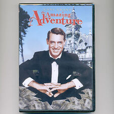 Amazing Adventure Cary Grant movie, new DVD Romance Riches, tycoon, Ernest Bliss