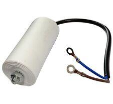 Condensateur permanent de travail pour moteur 30µF 450V précâblé Ø45x95mm ±5%