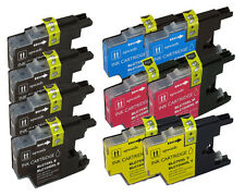 10 Pack NEW Set Ink Cartridges for LC75 Brother MFC J825DW J835DW J430W J625DW