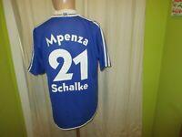 FC Schalke 04 Adidas Meister der Herzen Trikot + Nr.21 Mpenza + Signiert Gr.M