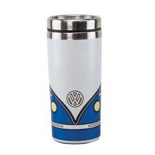 Official VW Camper Van Metal Travel Mug / Cup with Lid