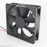 1pc Brushless DC Cooling Fan 80x80x25mm 80mm 8025 7 blades 24V 2pin fan