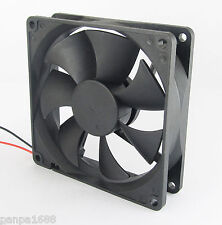 30pcs Brushless DC Cooling Fan 80x80x25mm 80mm 8025 7 blades 24V 2pin fan UK
