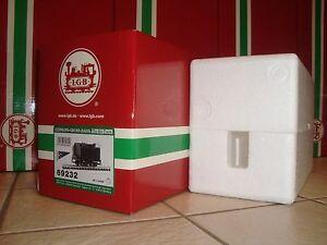 LGB 69232 BLACK AMERICAN SOUND TENDER ORIGINAL EMPTY BOX & FOAM INSERTS ONLY NEW