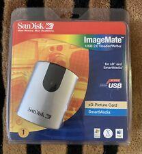 NEW SanDisk ImageMate USB 2.0 xD/SM Reader/Writer (SDDR-95-07)
