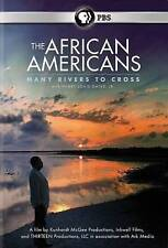 The African Americans: Many Rivers to Cross DVD 2 Disc Set PBS Henry Louis Gates