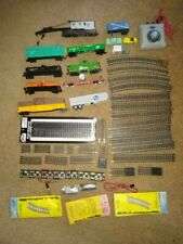 Lot 50+ piece HO Train Rolling Stock Nickel Snap Track Switch Coupler Terminal