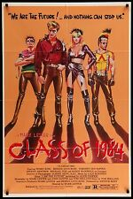 CLASS OF 1984 Movie Poster 27x41 #MoviePoster #Horror #BMovie #Grindhouse #Punks