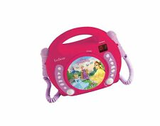 Lexibook Disney Princess Rapunzel CD player for kids with 2 toy microphones, ...