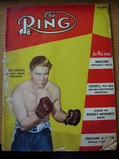 Oct-1953 anillo de la revista de boxeo: (arrugada, usado, marcado en cubiertas)