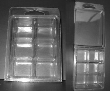 Clamshell Candle Molds ~ 50 ~ Tart Squares container