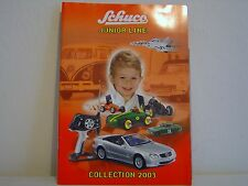 SCHUCO JUNIOR LINE COLLECTION,  NEW RELEASES, AUTUMN WINTER 2003 LEAFLET