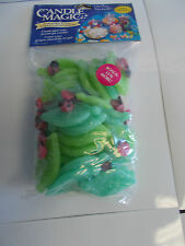 6 Bags Ladybugs/Leaves Candle Magic Scented Wax Accents. Make your own J4-1