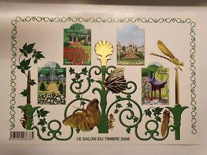 Bloc de Timbres n°120 Salon du timbre 2008 NEUFS SUP