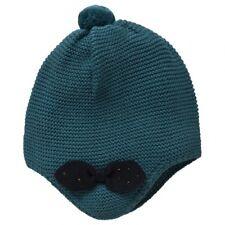 Bonnet Beret Louise Coquelicot Darboux Bleu Geai Nœud Marese Taille 47 cm